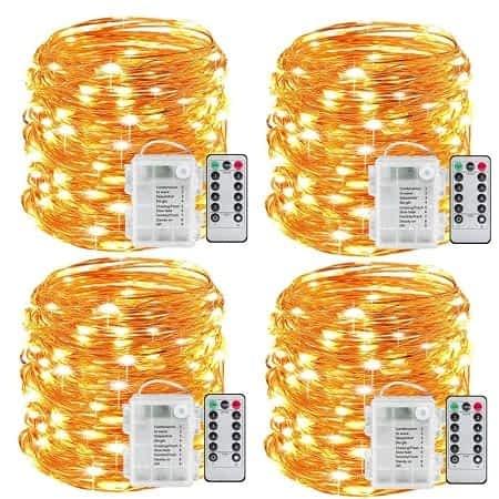 Preço mais barato Aliexpress! Grinalda 5mt com 50 Luzes LED desde 1,60€
