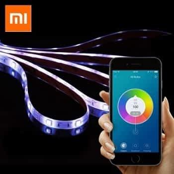 Xiaomi smart strip LED com 2 metros por 30,5€ + oferta de 1 lâmpada LED Digoo