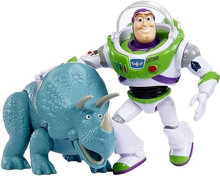 Pack de 2 Bonecos Toy Story 4, Buzz e Trixie a 15€