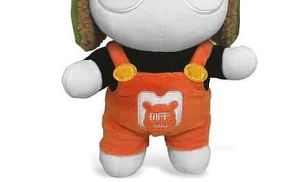 Coelho de peluche Xiaomi MiTu MFF Plush Toys