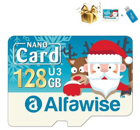 Oferta flash! Teclast MicroSD 128GB por 11,4€ e Alfawise edição de Natal 3 em 1 por 14,7€