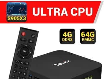 TV BOX Android 4gb 64gb