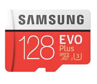 MicroSD Samsung EVO Class10 128gb por 8,4€ mais 3 ofertas grátis