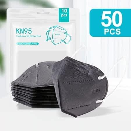 Melhor Preço, Não o Deixes Escapar! 50 Mascaras KN95 FFP2 por 6,35€