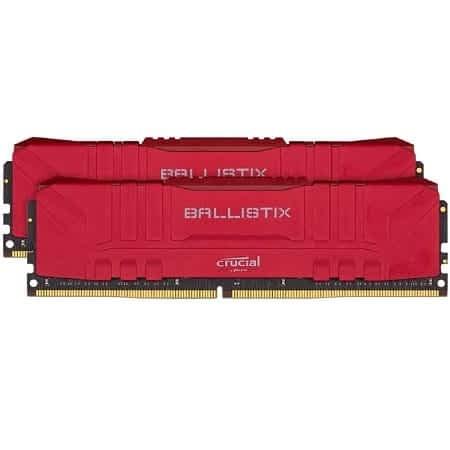 (8GB x2) Crucial Ballistix DDR4 16GB CL15 desde Espanha a 68,99€
