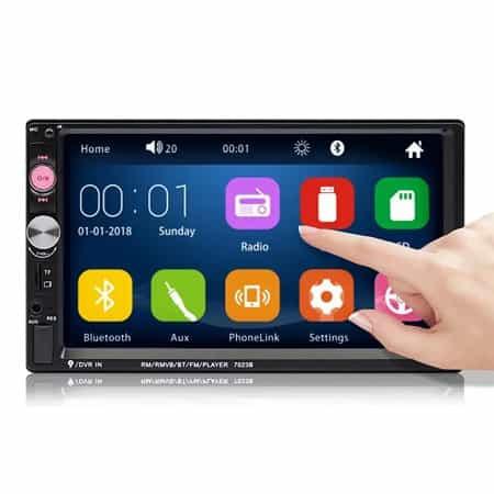 Auto-radio iMars com ecrã touch desde Espanha por 24,76€