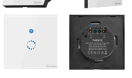 Interruptor de parede wifi touch sonoff