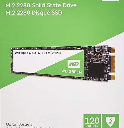Oferta Amazon! WD Green SSD M.2 de 120 GB por 20,89€