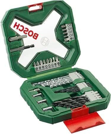 Bosch X-Line com 34 peças baratinho na Amazon por 11,80€