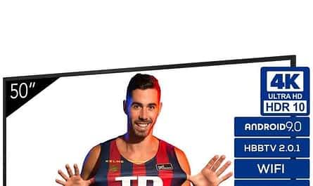 TCL smart tv de 55 polegadas