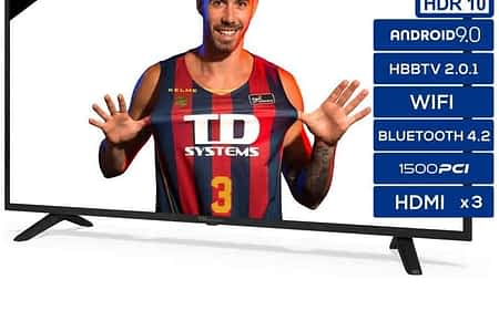 TD Systems Smart TV 4K + HDR de 50″ a 299,00€ desde Espanha