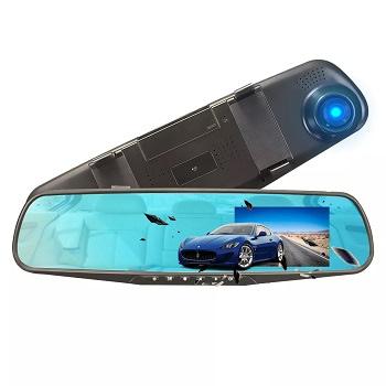 Espelho Retrovisor com câmara HD 1080p por 7,9€