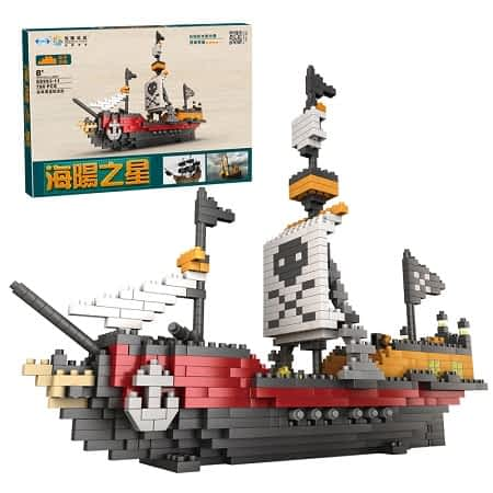 Barco pirata 780 peças por apenas 4,26€