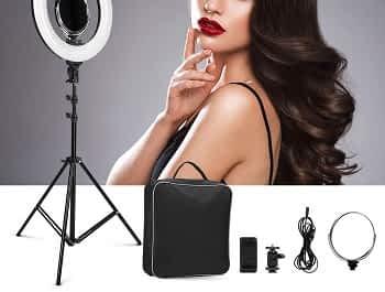 Aro de Luz LED para Maquilhagem e Fotografía