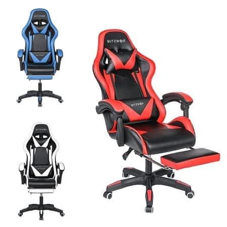 Cadeira gaming BlitzWolf® BW-GC1 por 73,70€ desde a EUROPA