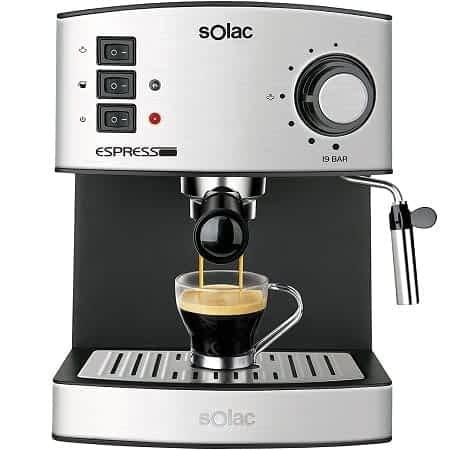 Maquina de café Solac em desconto na Amazon por 59,99€