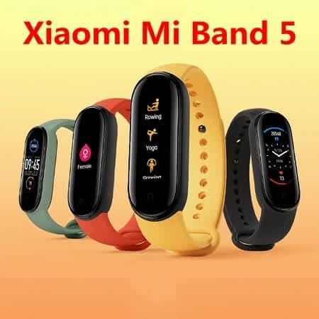 Xiaomi Mi Band 5 desde Espanha a 21,99€