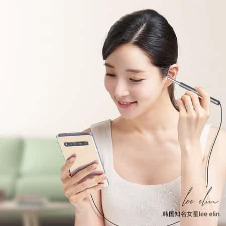 Endoscópio Xiaomi Bebird K10 para limpeza de ouvidos por 14,95€