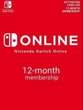 Nintendo Switch Online Membro por 1 Ano a 16,29€