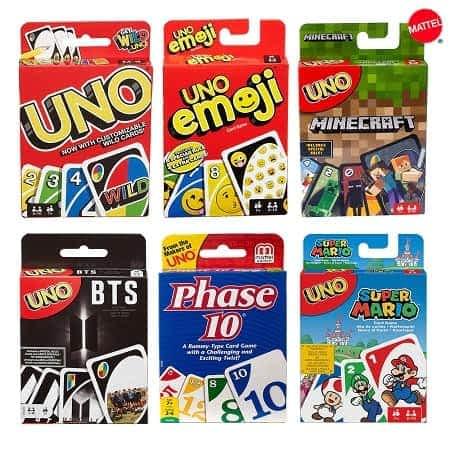 Cartas UNO Emoji, Minecraft, Super Mario etc desde 8,14€