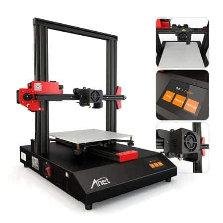 Impressora 3D Anet ET4 desde Espanha a 127,71€